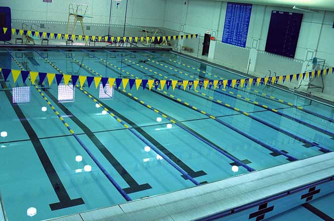 elms and simmons tie for women s swimming favorite gnac