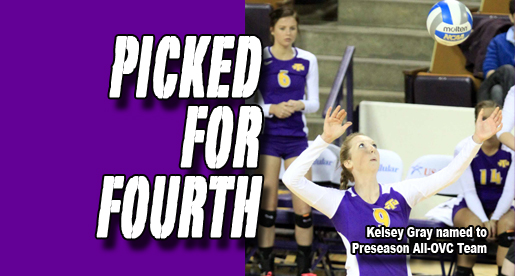 Golden Eagle volleyball picked fourth in OVC Preseason Poll