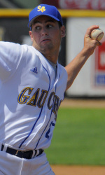 Huggins' Complete Game Shutout Fuels Sweep of USC