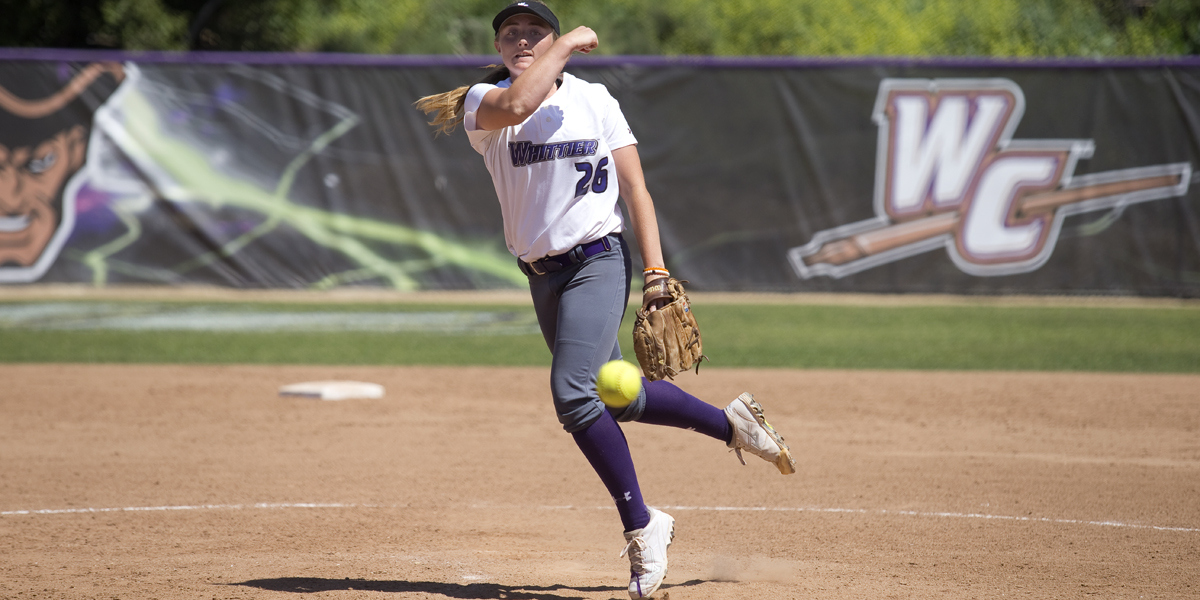 Softball salvages split with Redlands