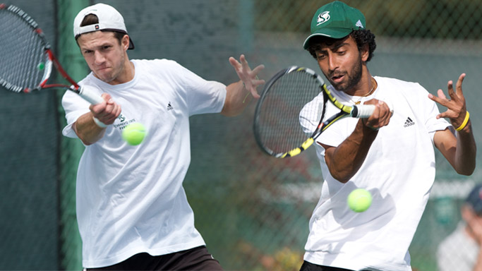 MEN'S TENNIS' BRANDYS AND RAM NAMED FIRST TEAM ALL-BIG SKY