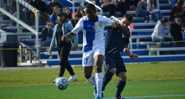 Men's Soccer Starts GNAC With 4-0 Win Over Rivier