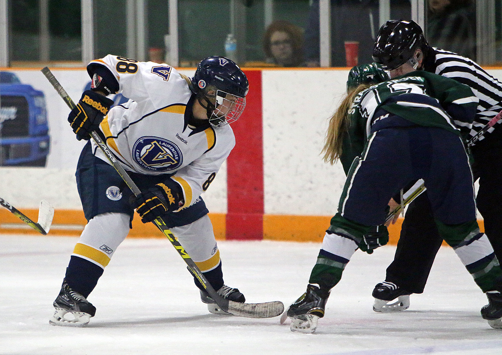 WHKY | Voyageurs Shutout by #8 Gryphons