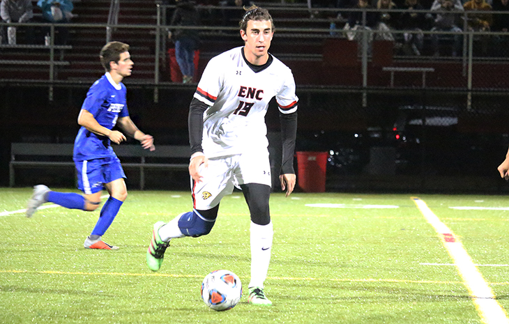 Men's Soccer Scores 3-0 Win at Worcester State