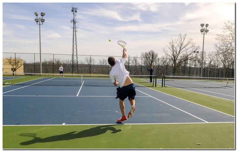 Mount men's tennis team scores an 8-1 win at Anderson University