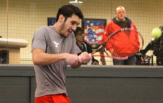 Mistreanu, Campos Earn Victories in 5-2 Loss to Duquesne.