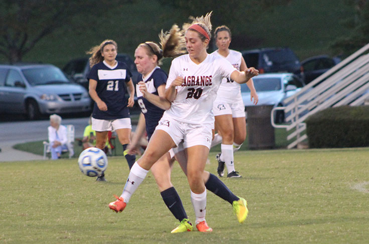 Women's Soccer: Panthers, Toccoa Falls face off in non-conference tilt