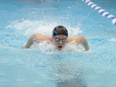 CCSU Wins 5 of 6 Events, Leads After Day One of NECs