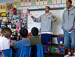New UCSB Basketball Program Helps Cultivate Interest in Math by Local Third Graders