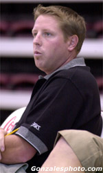 Dustin Moore Named First Assistant for Volleyball