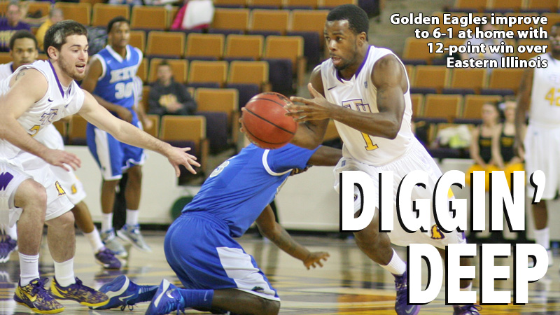 Golden Eagles hold off EIU Panthers, 81-69, in OVC action
