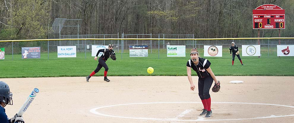 Photo for Lady Red Hawks Split On The Road