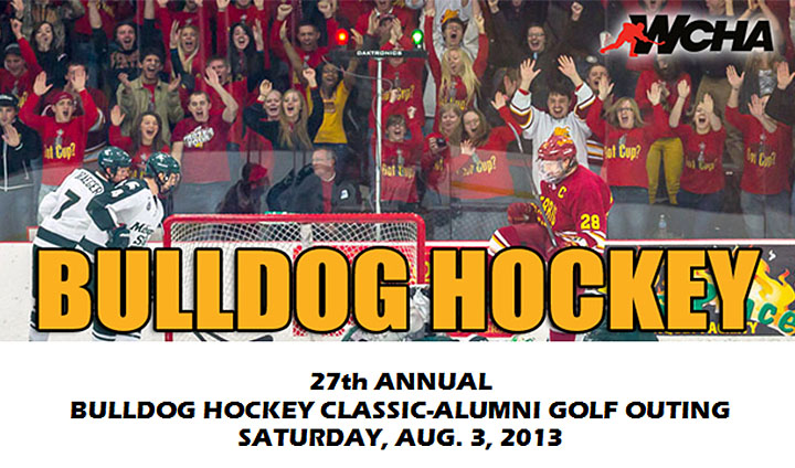 Bulldog Hockey Classic-Alumni Golf Outing Set For August 3