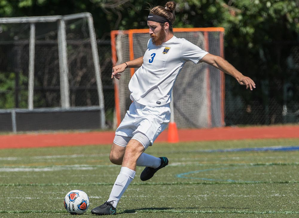 Dent's Header Sends Worcester State Past Bridgewater State in Overtime