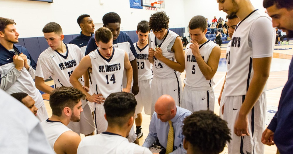 Strong Second Half Sends Mount Saint Mary Past Men's Basketball