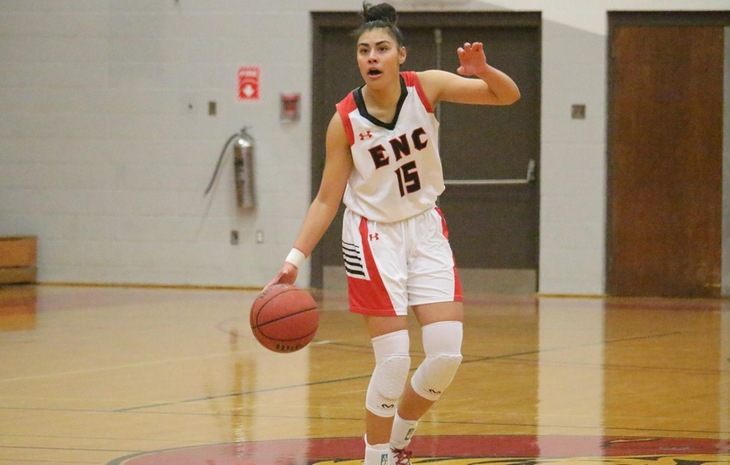Jenn Burnham Dubbed NECC Women's Basketball Player of the Week