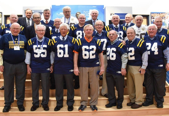 Members of the 1963 Football team