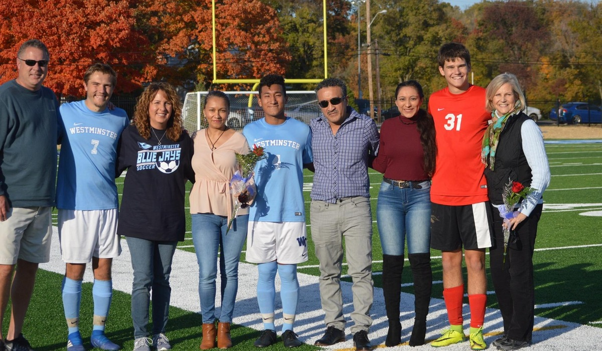 Westminster Men's Soccer Defeats Blackburn on Senior Day