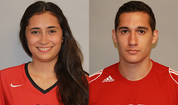 Ramos, Zapata Named Cougars Of The Month