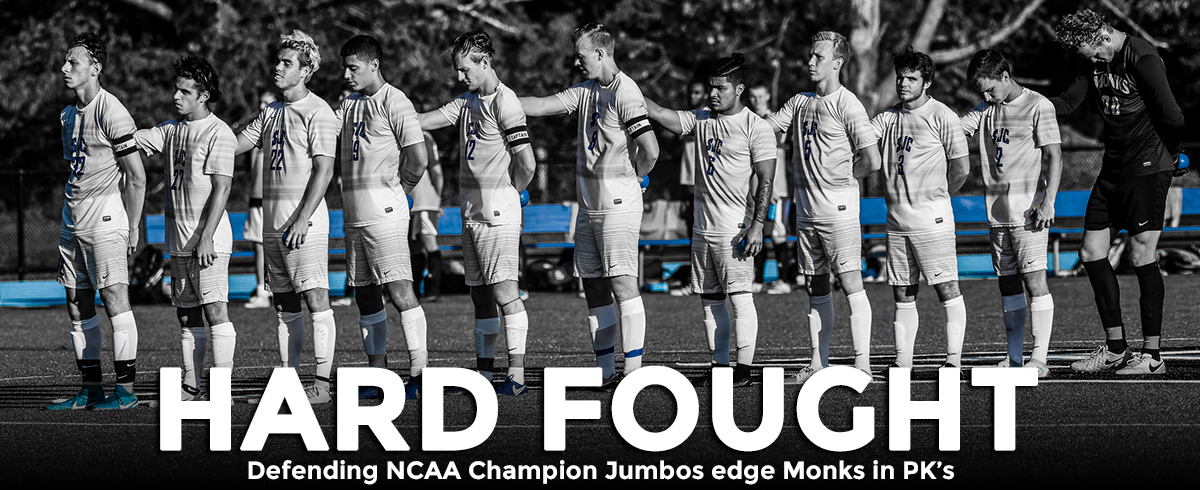 #3 Jumbos Slip Past #17 Monks in PK's in NCAA Second Round