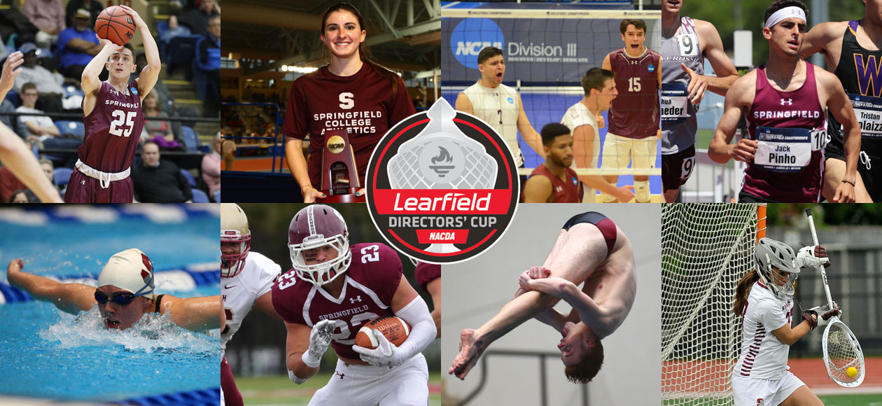 Springfield College Finishes In Top 5% Of Division III Athletic Programs In The 2017-18 Division III Learfield Directors' Cup