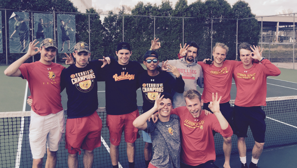 Ferris State Men's Tennis Captures Third-Straight GLIAC Regular-Season Championship!