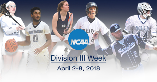 Moravian College to participate in 7th Annual NCAA Division III Week.