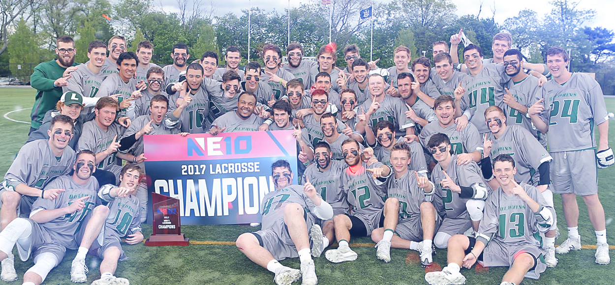 Lucky #13: Dolphins Defense Impresses in Le Moyne's 13th NE10 Men's Lacrosse Championship