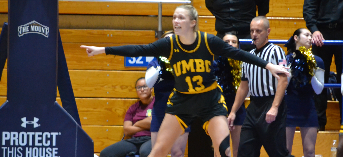 Gast Posts Career Day; UMBC Falls 74-58 to La Salle at Navy Classic