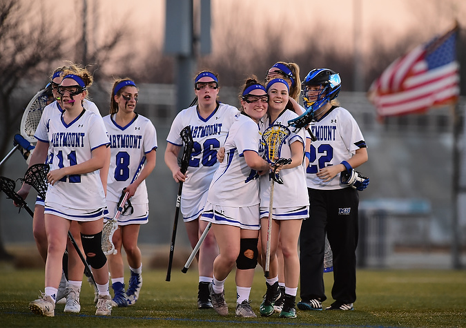 Women's lacrosse surges past Abington for fifth win of season