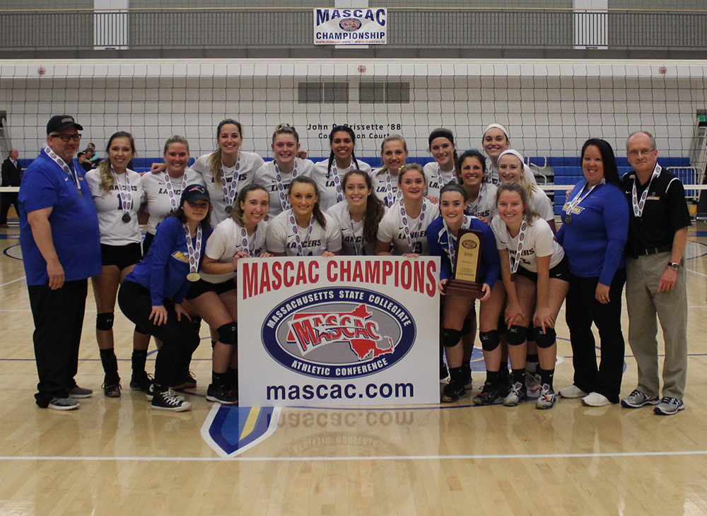 Volleyball Claims Second Straight MASCAC Crown