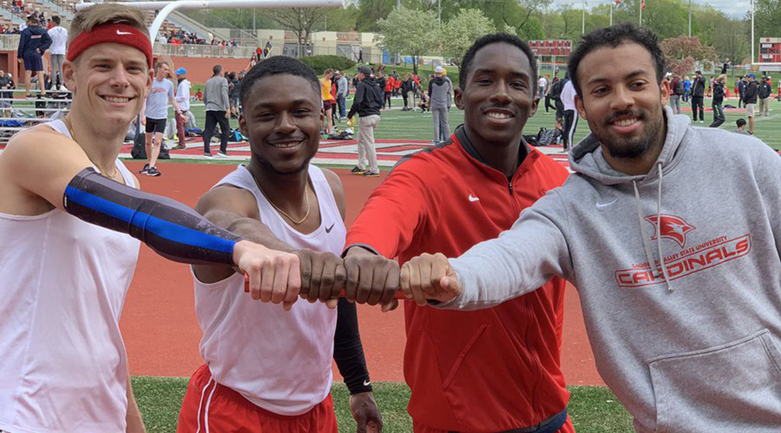 Cardinals break records; improve national marks at Dr. Keeler Track & Field Meet