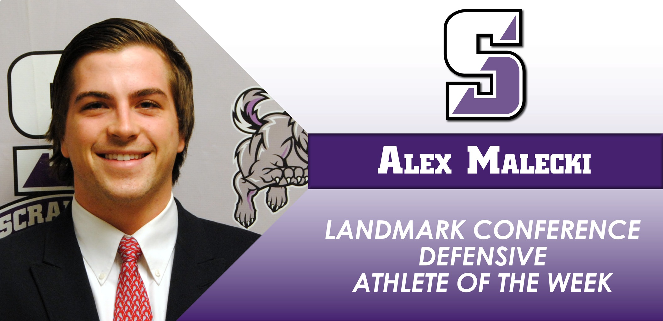Malecki Named Landmark Conference Defensive Athlete of the Week For Men's Lacrosse