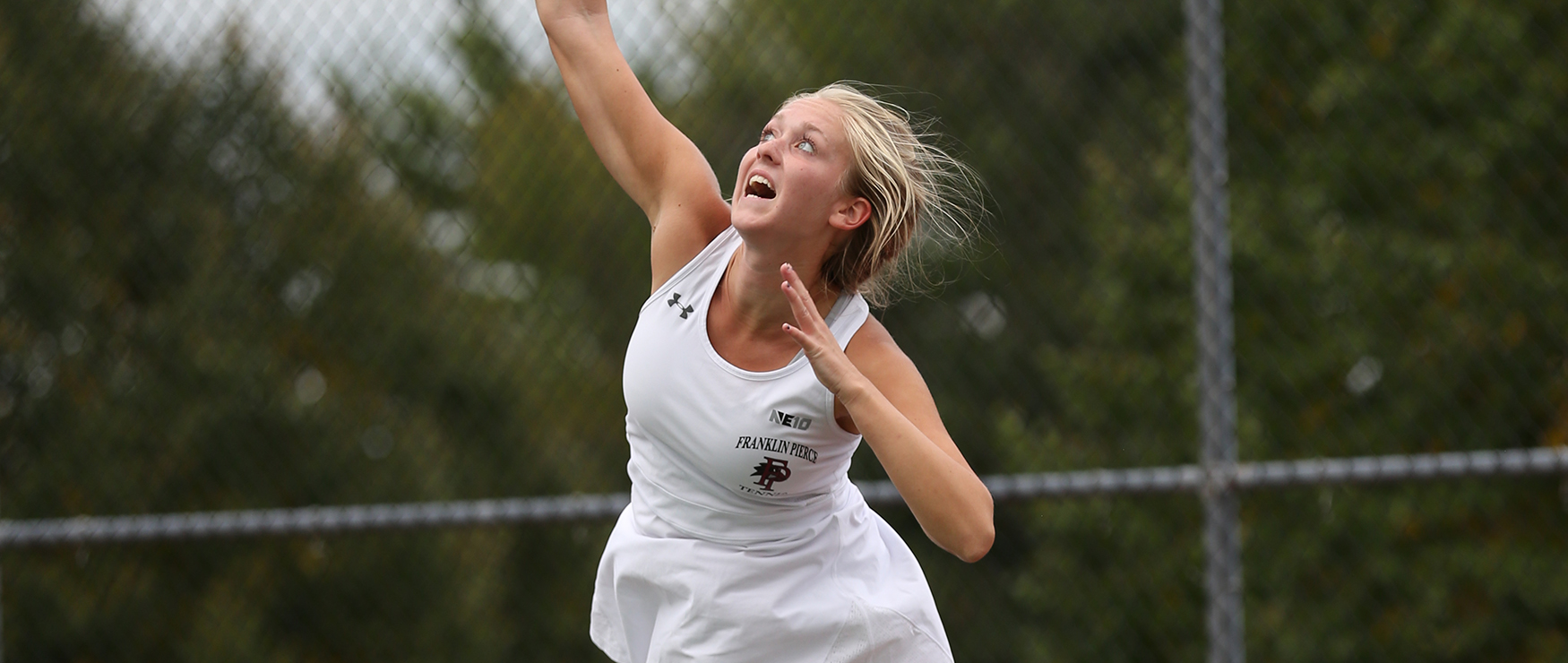 Women's Tennis Shutout at Stonehill, 7-0