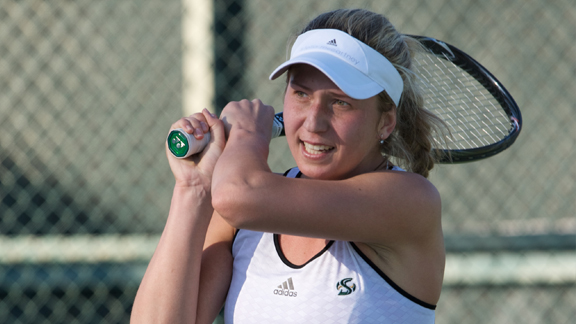 WOMEN'S TENNIS OUTLASTED BY UC DAVIS 4-3