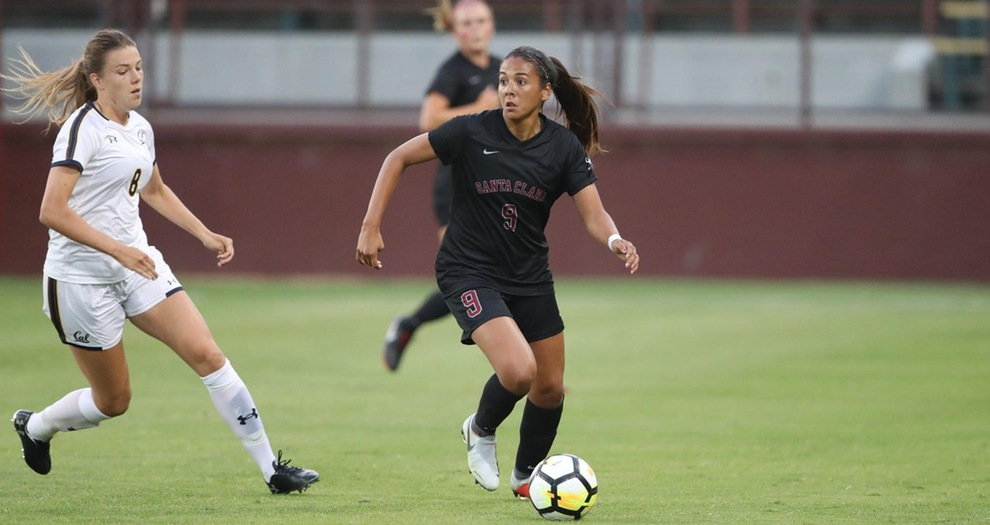 No. 19 Women's Soccer Takes Care of Cal 4-1 in Home-Opener