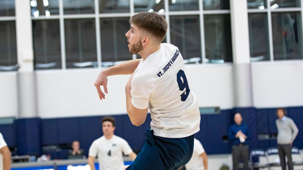 Men's Volleyball Falls In Five Sets to Purchase in Skyline Semifinal