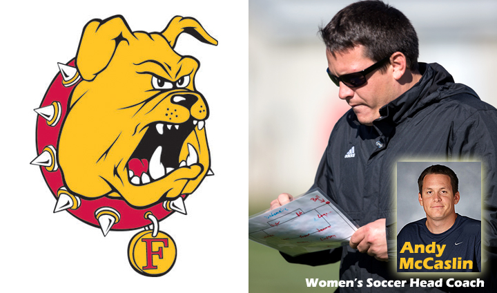 Ferris State Tabs Andy McCaslin As Next Women's Soccer Head Coach