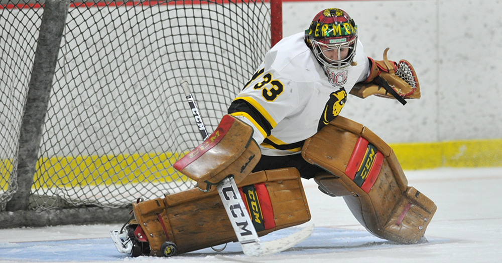 Carbo's 51 Saves Lifts Hockey to First Round Win over Curry