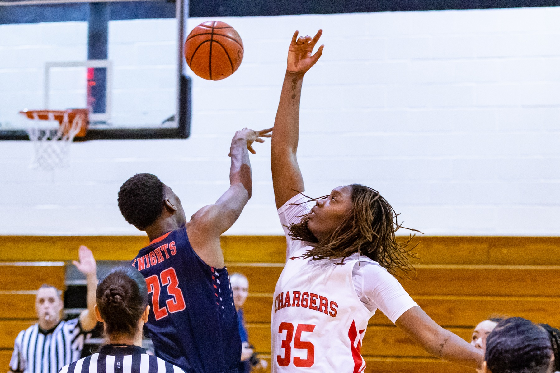 LADY CHARGERS EARN SECOND STRAIGHT WIN OVER CALDWELL