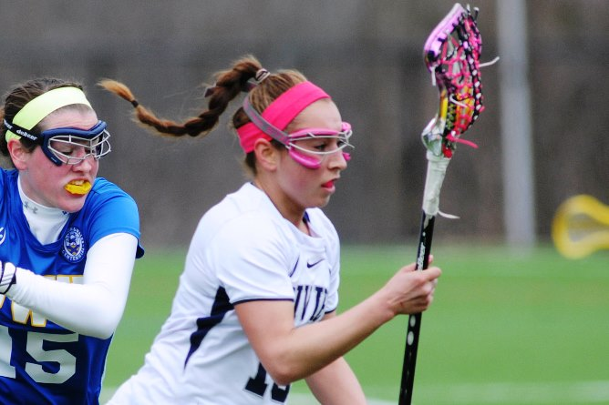 Amaral, Women's Lax earn 14-9 decision at Norwich