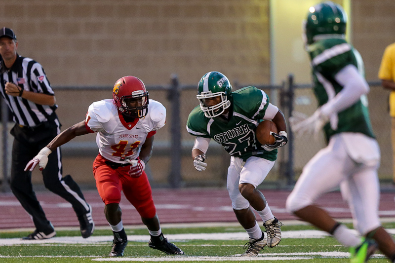 GAMEDAY CENTRAL: Storm Hosts Saginaw Valley Under the Lights on Youth Football Night