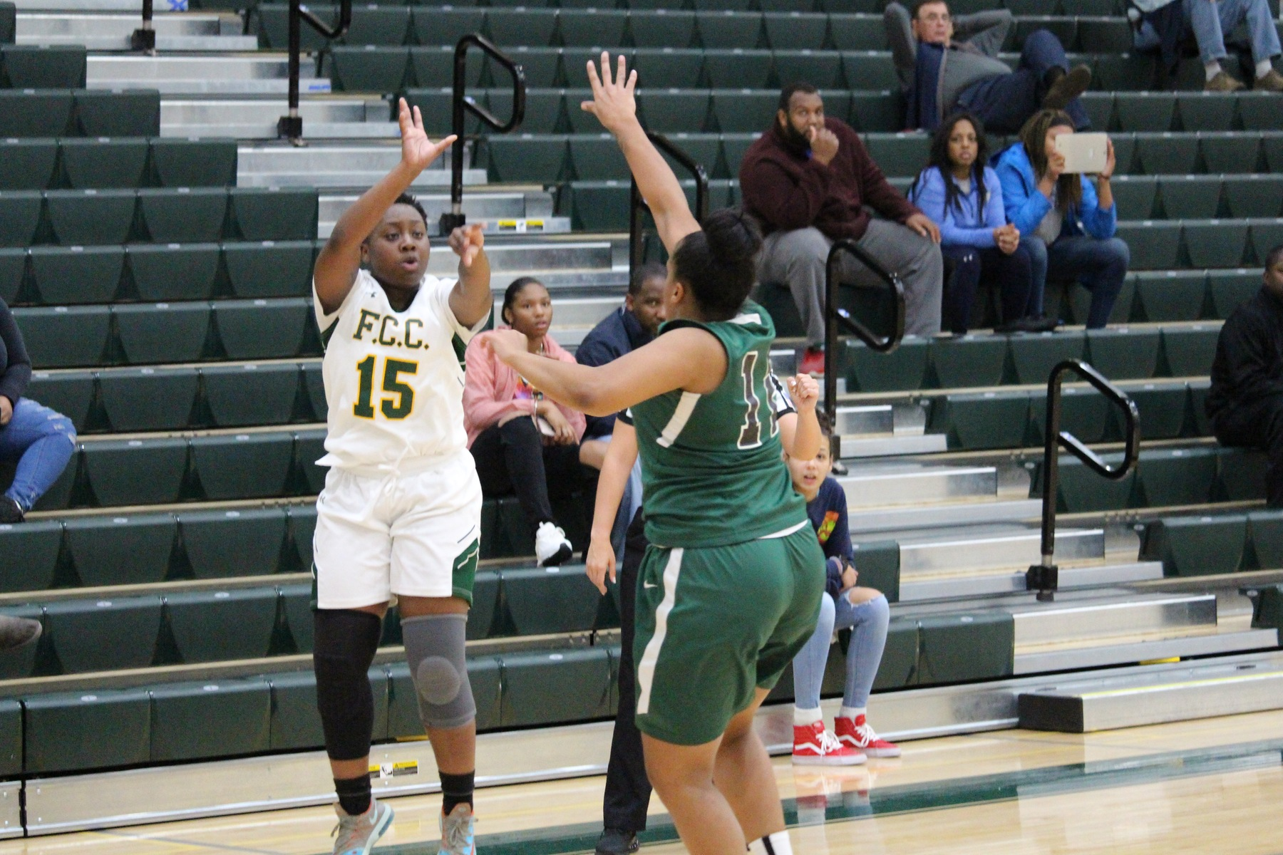 Cougars Cling to Late Lead, Beat CCRI, 81-74