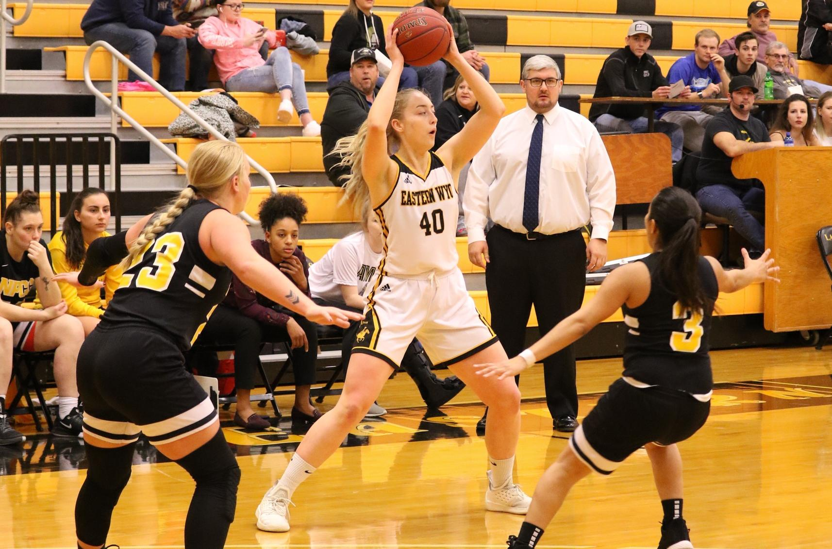 Lancer women lose Region IX-North opener