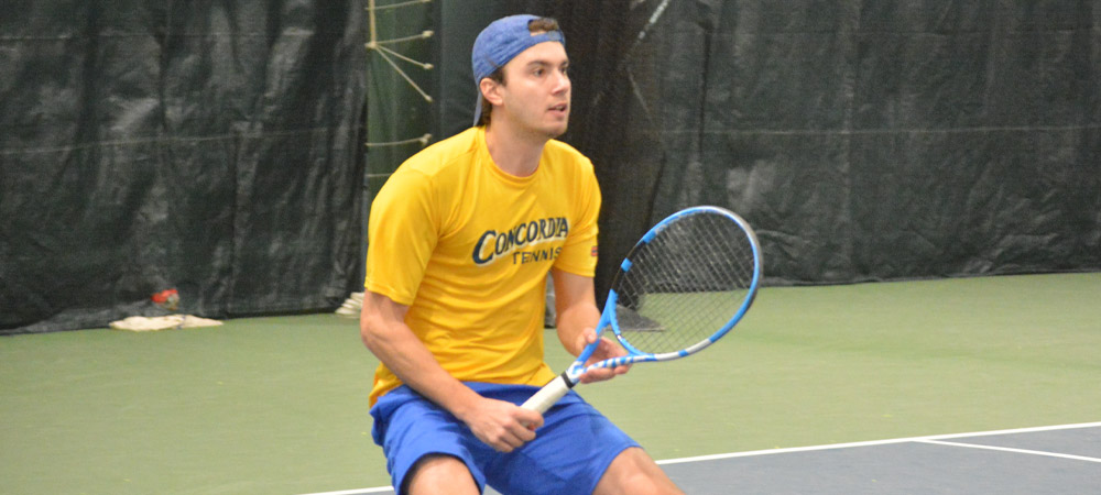 Nilsson Goes Undefeated Against Fairleigh Dickinson In Men's Tennis' 4-3 Setback