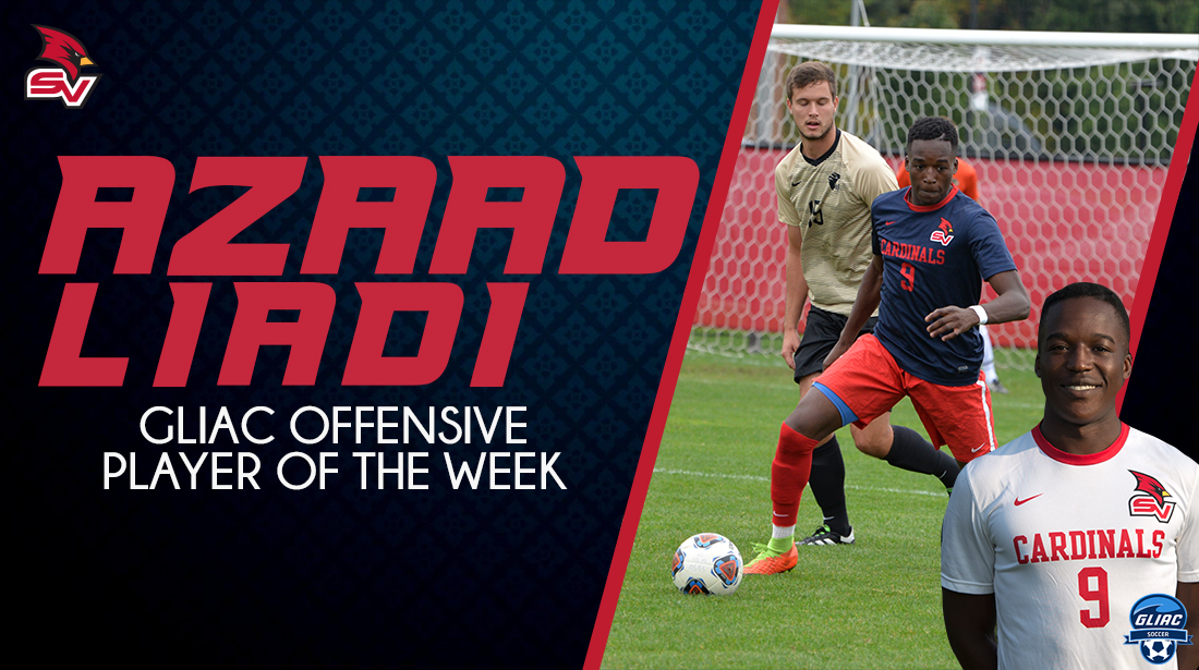 Azaad Liadi Named GLIAC Men's Soccer Offensive Player of the Week