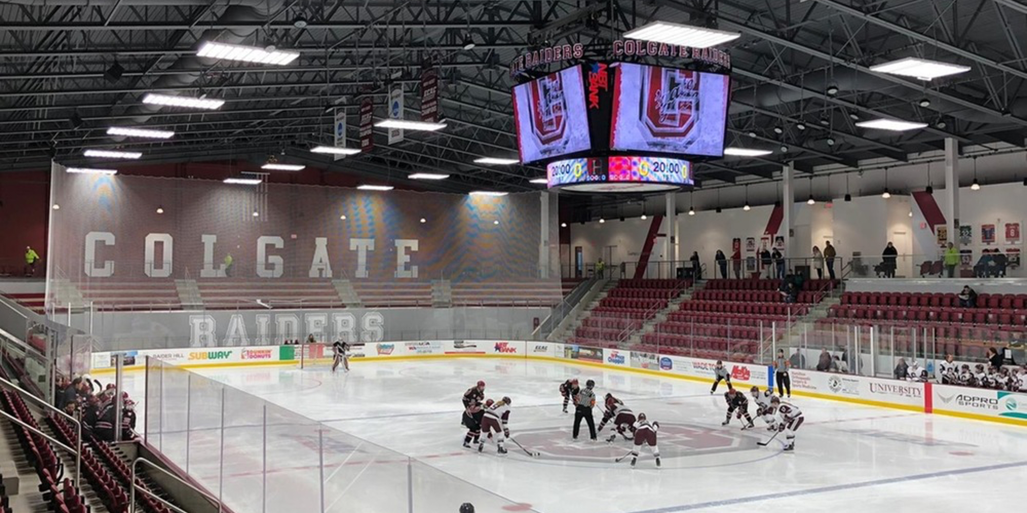 Harvard Puts Up Strong Front Against No. 4/4 Colgate