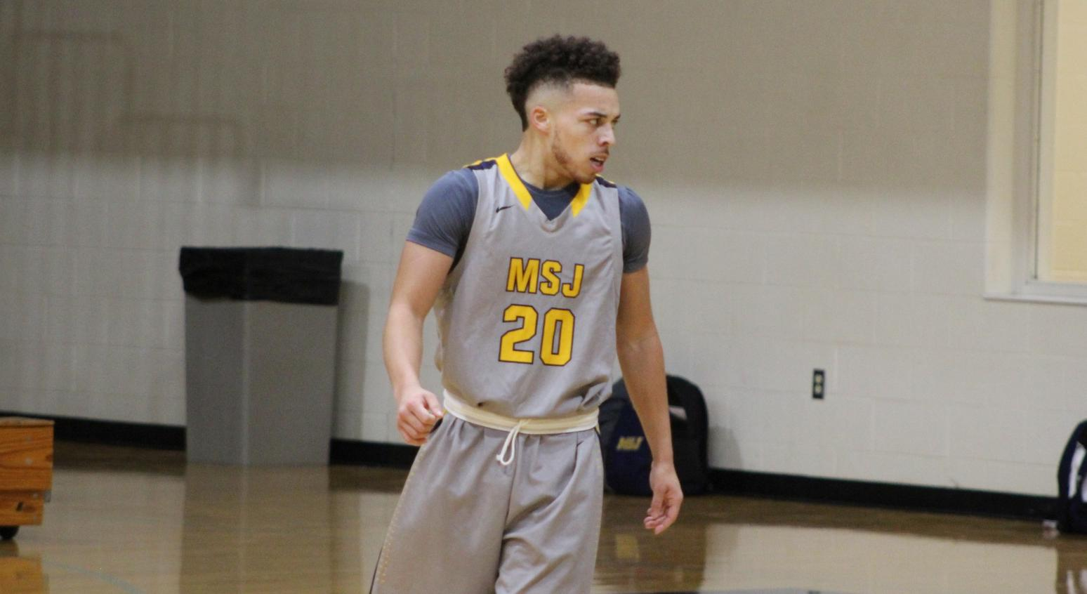 Mount St. Joseph men's basketball alone atop the HCAC