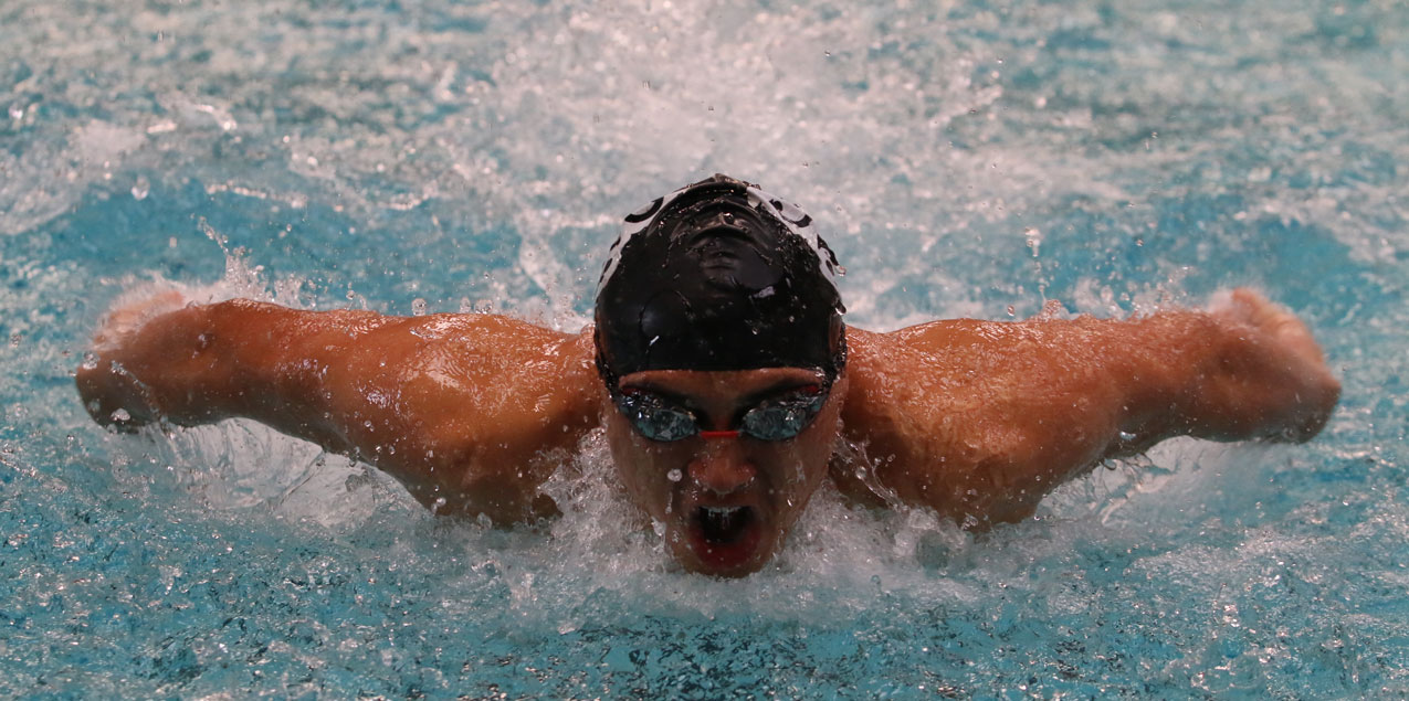 Jerick Pena, McMurry University, Swimmer of the Week (Week 3)