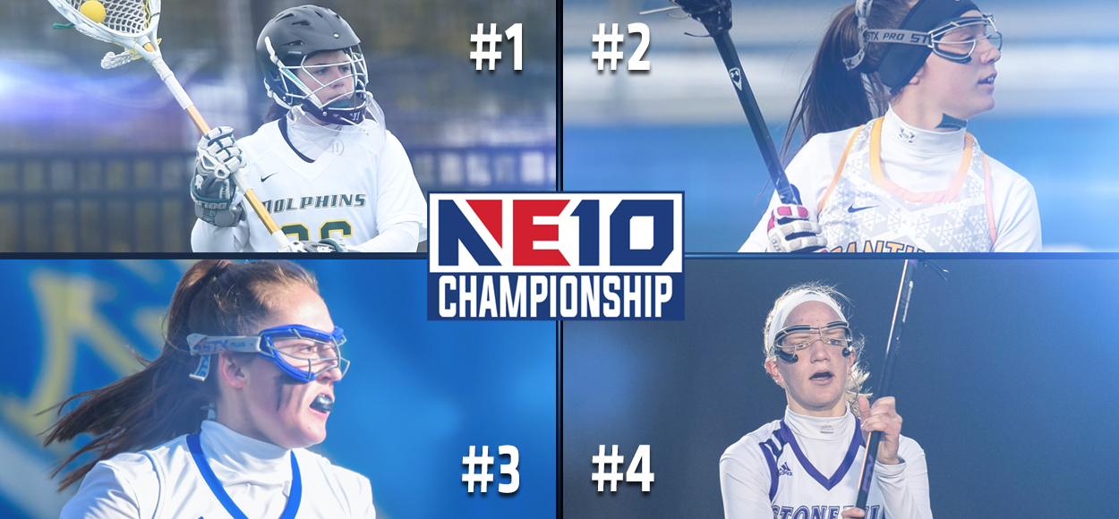 Higher Seeds Reign Supreme During NE10 Women's Lacrosse Quarterfinal Round